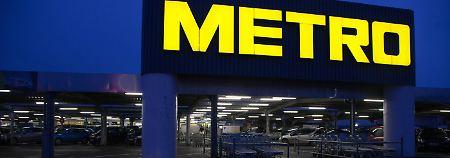 Teilung Mitte des Jahres geplant: Metro kommt Aufspaltung näher