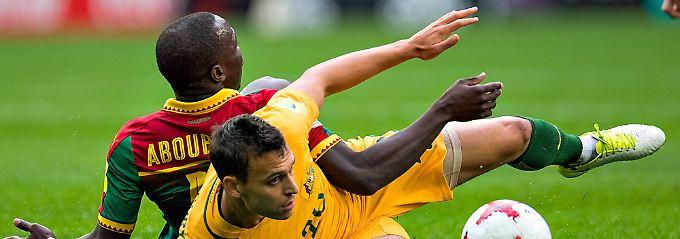 Doppeltes Aus beim Confed Cup?: Socceros ernüchtern Kamerun und sich selbst