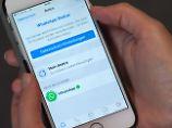 """""""Gegen rechtliche Vorgaben"""": WhatsApp-Gesetz sorgt für scharfe Kritik"""