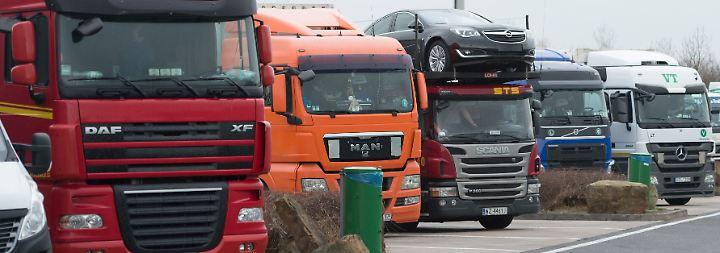 Die Angst fährt mit: Immer mehr Lkw-Fahrer werden überfallen