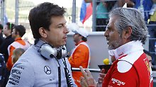 "Nach Ecclestones ""Handgranate"": Mercedes lacht Ferrari-Verschwörung weg"