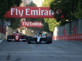 Vettels Rammstoß ist in den Formel-1-Annalen verewigt.