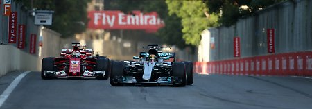 Strafpunkte für Hamilton-Rempler: Vettel droht Rennsperre