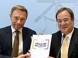 Neue Regierung in NRW: Koalition von CDU und FDP steht