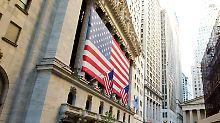 Nach Bilanzflut: Dow Jones gibt leicht nach
