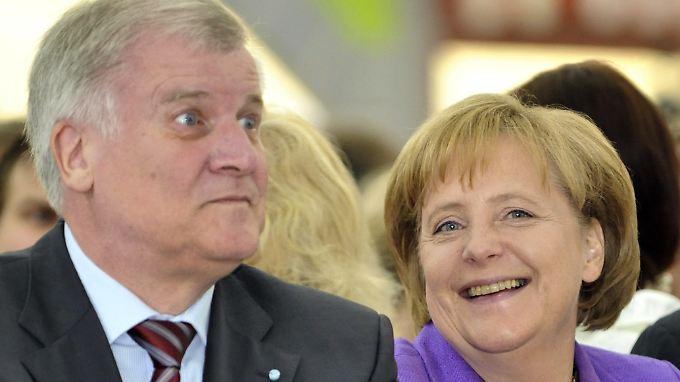 Seehofer und Merkel raufen sich wieder einmal zusammen.