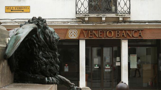 Die Bank Veneto wird abgewickelt.