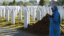 Teilschuld an Massaker: Niederlande müssen für Srebrenica zahlen