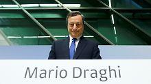 Euro schnellt in die Höhe: Draghi bringt den Dax zum Stolpern