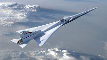 """So könnte """"X-plane"""" aussehen: Nasa stellt Design für Überschalljet vor"""