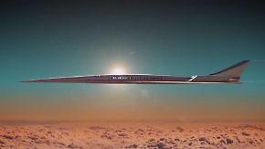 """Concorde-Nachfolger """"X-plane"""": Nasa arbeitet an Überschallflugzeug ohne Knall"""