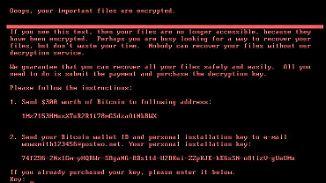 E-Mail-Konto der Hacker gesperrt: Petya-Opfer können nicht zahlen