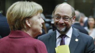 Streit um Ehe für alle: Die Runde geht an Martin Schulz, aber …