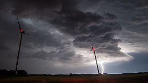 Gewitter mit Starkregen: Im Osten kann es gewaltig krachen