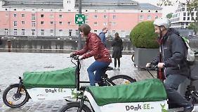 Klimafreundlich umsatteln mit Donk-EE: Köln startet europaweit größtes Sharing-Angebot für E-Lastenräder