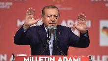 Am Rande des G20-Gipfels: Bundesregierung verbietet Erdogan-Auftritt
