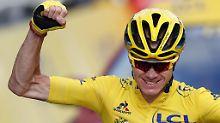 Tour de France mit Blick zurück: Doping, Wut und viel Froome