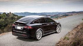 Neben dem Model S fährt auch das Model X von Tesla im Premiumsegment.