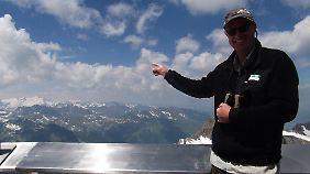 Werner Schuh ist seit sechs Jahren Ranger im Nationalpark Hohe Tauern.