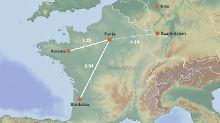 In zwei Stunden an den Atlantik: Paris rückt näher an Bordeaux heran