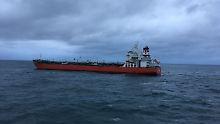 Schiffsunfall im Ärmelkanal: Frachter rammt Benzintanker
