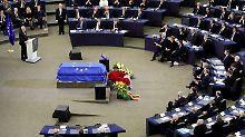 """""""Europe at its best!"""": Juncker erzählt, wie Kohl einmal weinte"""