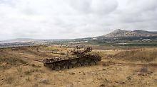 """Vergeltung für """"Grenzverletzung"""": Israel greift syrische Armee an"""