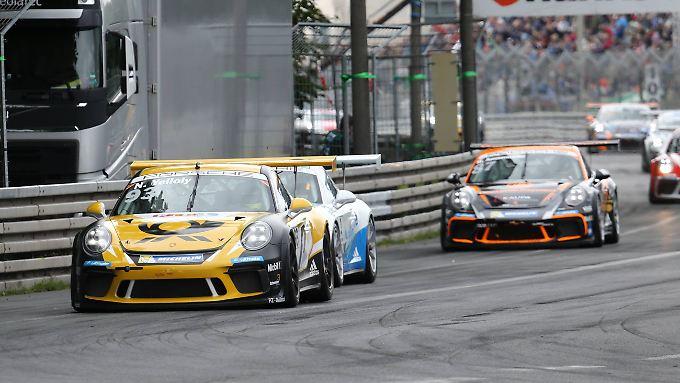 Nick Yelloly sichert sich Platz eins auf dem Norisring.