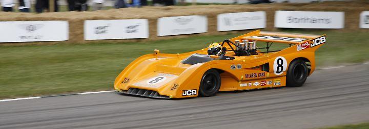 Ein alter Renner von McLaren.