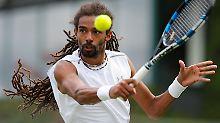 Für Dustin Brown geht in Wimbledon ein Traum in Erfüllung - ein Duell gegen Andy Murray.