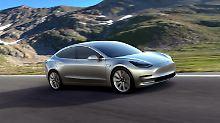 Auslieferung  noch im Juli: Tesla darf sein Model 3 bauen