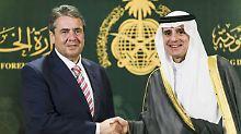 Vermittlung in Katar-Krise: Gabriel hofft auf Anti-Terror-Abkommen