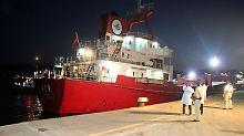 Zwischenfall im Mittelmeer: Ankara kritisiert Schüsse auf Frachter scharf