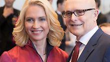 Führungswechsel in Schwerin: Schwesig ist neue Ministerpräsidentin
