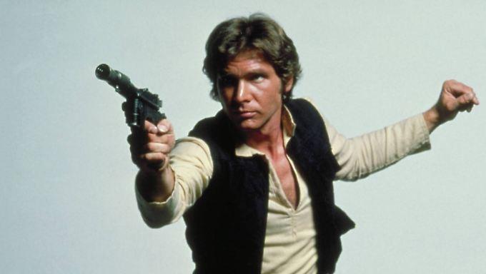 """""""Star Wars"""" und seine Rolle als Han Solo machten Harrison Ford zum Star."""