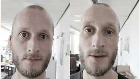 Ein Vergleich: So unterscheidet sich die Perspektive der beiden Kameras im Oneplus 5.