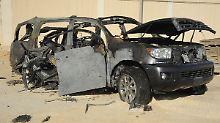 Explosion in Saudi-Arabien: Attentäter töten saudischen Polizisten