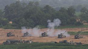 Reaktion auf Interkontinentalraketen-Test: USA und Südkorea warnen Nordkorea mit Militärübung