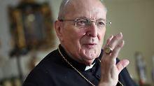 Früherer Erzbischof von Köln: Kardinal Meisner ist tot