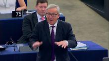 """""""Lächerliches"""" EU-Parlament: Juncker entschuldigt sich für Wortwahl"""