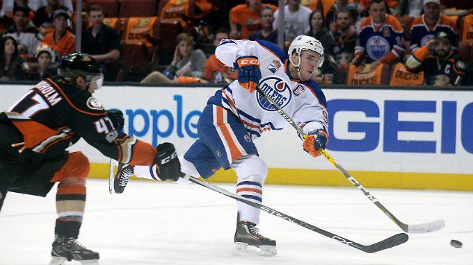 30 Tore, 70 Vorlagen: Connor McDavid ist der Top-Scorer der Edmonton Oilers und bald Topverdiener in der NHL.