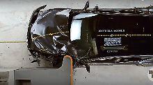 Kritik an Sicherheitsgurt: Tesla verpasst Bestnote im Crashtest