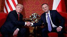 Trump und die leere Hand: Handgate - nächster Teil!