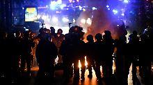 Pfefferspray und Wasserwerfer: So ist die Demo gegen den G20-Gipfel eskaliert