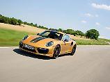 Lediglich 500 Exemplare wird es vom Porsche 911 Turbo S Exclusive Series geben.