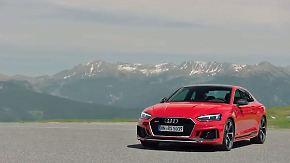 Sportlicher Gran Tourismo: Audi RS 5 Coupé bringt Power auch im Alltag