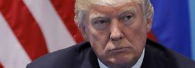 """Es bleibt bei """"America First"""": Trump sendet Kampfansage per Video"""