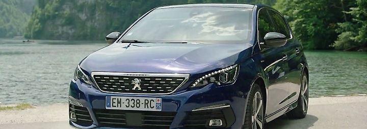 Eleganter Franzose mit Motorengrollen: Peugeot 308 rüstet mit handfesten Neuerungen auf