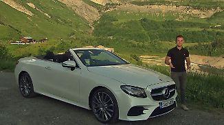 """""""Sinnlich, hot und cool zugleich"""": Mercedes E-400 Cabrio spielt in einer eigenen Liga"""