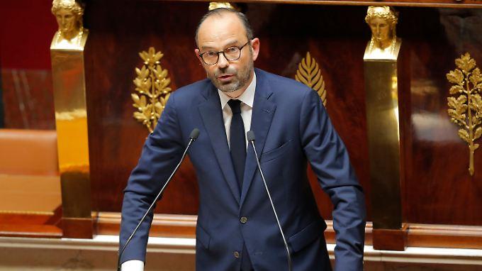 Premierminister Edouard Philippe stellte den Plan am Samstag vor.